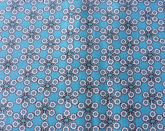 SALE.  Summer In The City --- Circles on turquoise