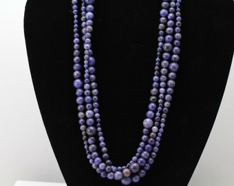 Sodalite Necklace. Listing