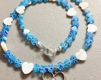 Blue Heart Valentine
