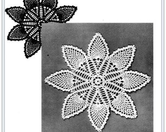 Pineapple Doily Crochet Pattern - 12 Inches - PDF 68102116