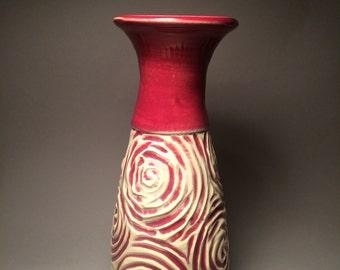 Morning rose vase
