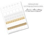 Miniature Letters and Envelopes PDF Download