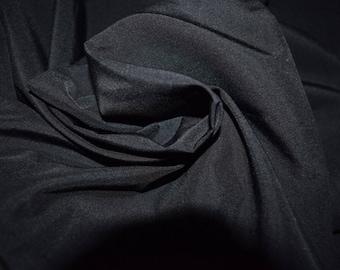 1 Yard Nylon Black Supplex