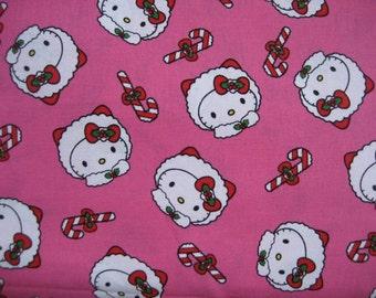 Hello Kitty Packed Eskimo Heads Fabric