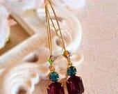 SALE 25% Off Victorian Earrings - Purple - Perfect Gift Jewelry - Delicate -  REGENCY Amethyst