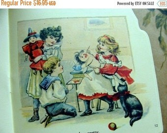 ON SALE Vintage New/Deadstock Story Picture Book Dolly in Town Makes a Wonderful Gift