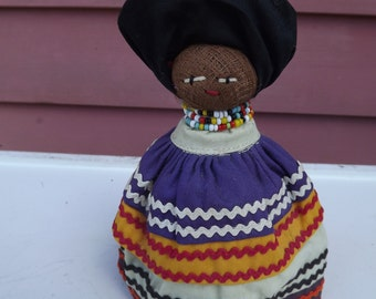 Vintage Florida Seminole Indian Doll