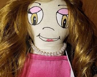 """16"""" Rag Doll Cloth Doll  Soft Doll"""