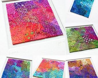 Textile Art - Colour Study