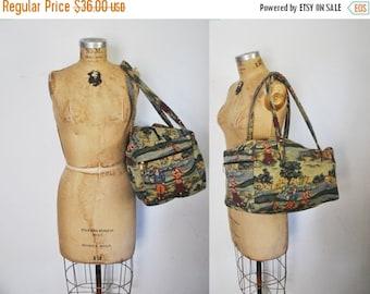 SALE 50% OFF Weekender Tapestry Bag / Travel luggage / GOLF novelty print