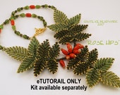 Rose Hips Beaded Necklace e-TUTORIAL ONLY
