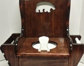 Potty Chair/Wooden Potty Chair/Bear Theme Potty Chair/Toilet Training/Pee Pee Time/Woodland Theme/Baby Shower Gift/New Baby/Toddler Potty