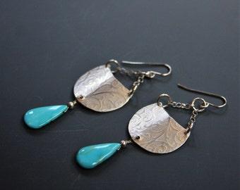 Royston ribbon turquoise ring boulder turquoise ring by for Royston ribbon turquoise jewelry