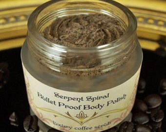 Bullet Proof BODY POLISH Organic Coffee Salt Scrub