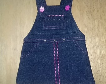 Jeans Jumper for 18 Inch Doll