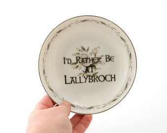 Outlander - Lallybroch - Claire Fraser - home and living - gift for Outlander fan - television show - key plate - gifts under 15