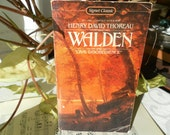 Walden and Civil Disobedience by Henry David Thoreau Signet Classic paperback 1980