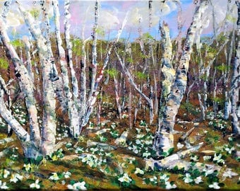 Birches, Beginning Again