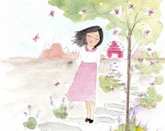 China Adoption Art Gift Adoption Art