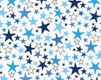 Monsters Stars in Park by Sea Urchin Studios for Robert Kaufman Fabric, Choose your cut
