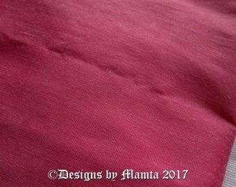 Thulian Pink Silk Dupioni Fabric, Wedding Decoration Fabric, Indian Silk Fabric By The Yard, Silk Fabric, Thistle Violet Art Silk Fabric