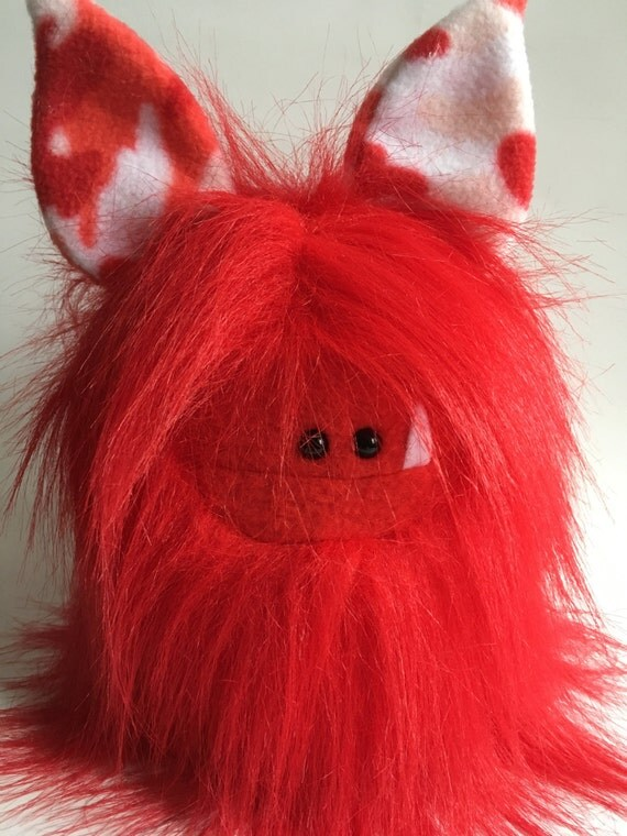 Valentine's Day Stuffed Animals from Etsy