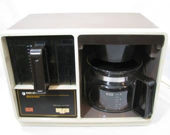 RESERVE FOR LISALYNN Vintage Black & Decker Spacemaker Space Saver Under Cabinet Counter Coffeemaker