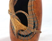 Gourd with Antler  -  Item 780 by Susan Ashley