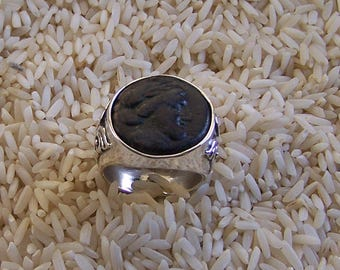 Apollo, Authentic Ancient Greek Coin Ring