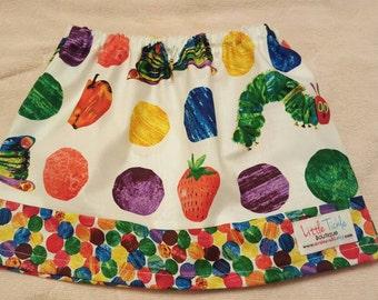 The very hungry caterpillar,  The very hungry caterpillar skirt, girl skirt