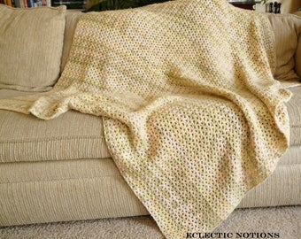 Multicolored Throw Blanket
