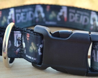 The Walking Dead dog collar & or leash