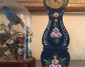 Miniature swedish mora clock