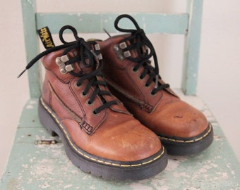 90's Dr Martens Air Wair Ankle Boots Womens UK 5