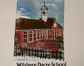 Wilshere Dacre School Reduction Lino and Letterpress Original Print