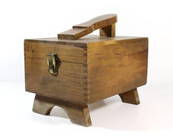 Vintage Shoe Valet Box