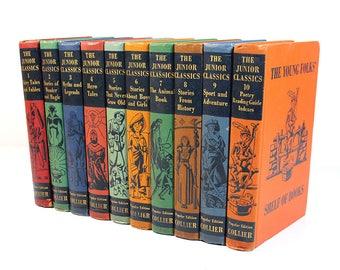 The Junior Classics - Collier - Complete Set of 10 Books