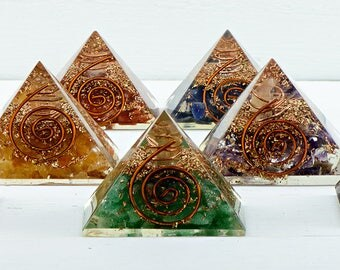 Mini Orgone Pyramid - The Energy of Life - The Universe By Storm