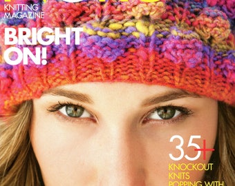 Noro Knitting Magazine Issue 1 Premiere Issue Fall / Winter 2012 - 35 Patterns for Women & Home