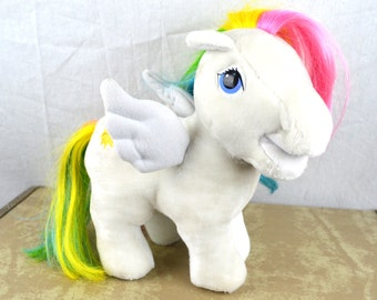 Vintage 1980s My Little Pony Plush Stuffed Animals - Hasbro Softies