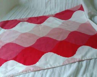 Vintage European style pillowcase pinks like Seven Seas