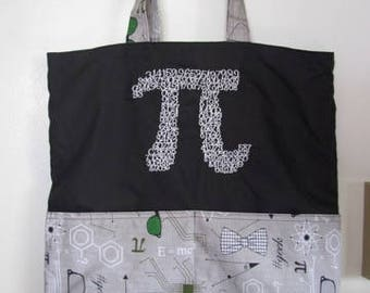 Pi 3.14 Science Tote Bag Shopping Bag Diaper Bag