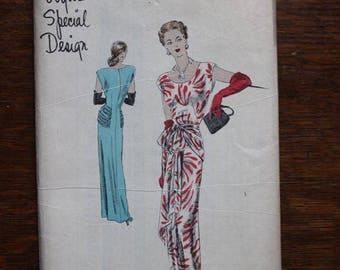Vogue Sewing Pattern S-4785 Special Design Size 18 Bust 36 VINTAGE by Plantdreaming