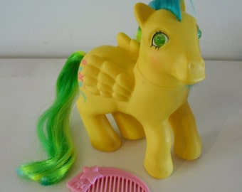 G1 My Little Pony Masquerade with Comb Vintage Hasbro MLP