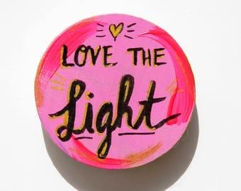 Lightworker, Quote Magnet, Spiritual Gift, Positive Affirmation, Fridge Magnets, Healing Art, Soul Sister, Starseed, Love Magnet
