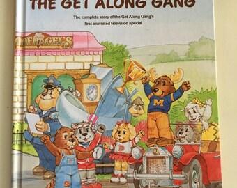 1984 Get Along Gang oversized hardcover book