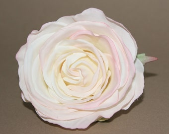 Cream Pink Kaia Rose - Artificial Flower - Silk Flower Heads
