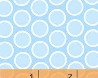 Windham - Basics/Pastels - Blue w/ Light Blue Dots - Fabric by the Yard 31636-14