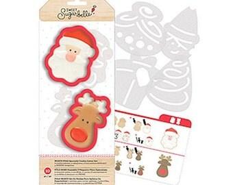 Santa Cookie Cutter Set, Sweet Sugarbelle Cookie Cutters, Reindeer Cookie Cutter, North Pole Cookie Cutters, Christmas Cookie Cutters