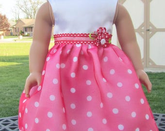 Summer dress 18 in doll like American Girl